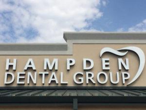 Hampden Dental Group sign